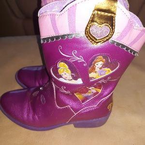 455be542850 Disney Shoes | Toddler Princess Winter Snow Boots Size 8 | Poshmark